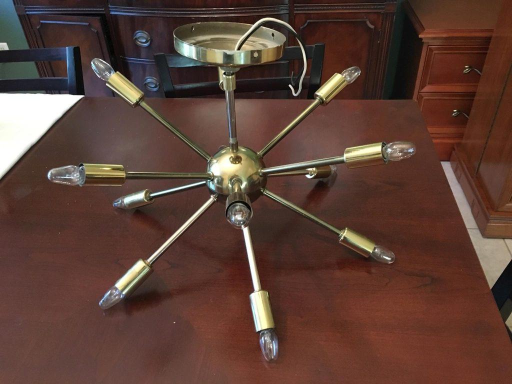 Sputnik lamp, retro-future cool!