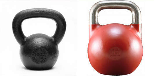 Kettlebell Reviews - Classic vs Competition kettlebells