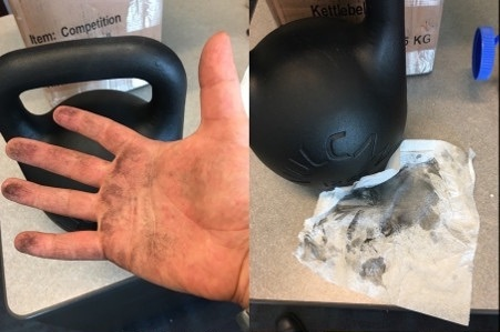 Vulcan Absolute Training Kettlebell dirty