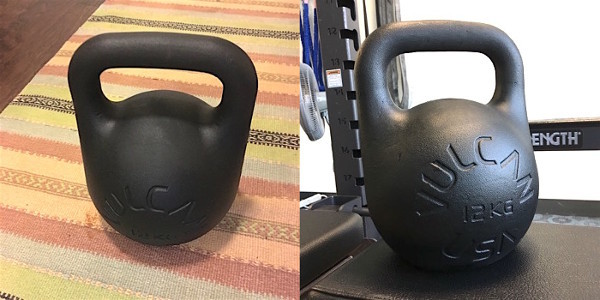 Vulcan Absolute Training Kettlebell finish