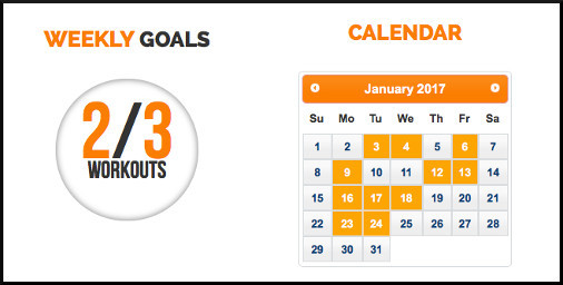 Kettlebell Movement Weekly Goals