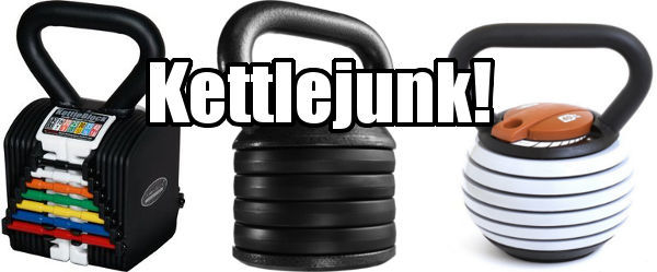 Kettlebell Buyers Guide - Avoid Adjustable Kettlebells