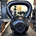 Kettlebell Buyers Guide - Kettlebells USA Metrixx Elite Precision Cast-Iron Kettlebell - Front