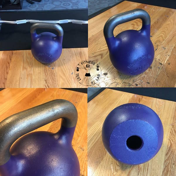 Kettlebell Buyers Guide - Kettlebells USA Paradigm Pro Elite Competition Kettlebel - Different Views
