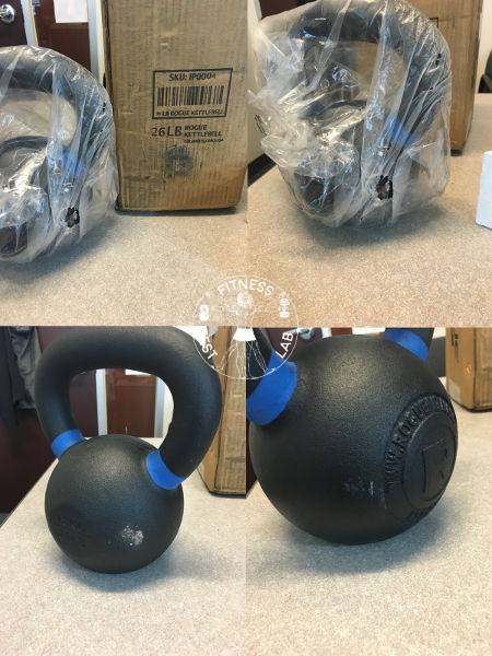 Kettlebell Reviews 2017 - Rogue Fitness Kettlebells Review Second Kettlebell Unboxing and Damage