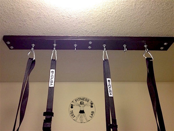 How to Hang Gymnastic Rings - Close Up of Ring Mount