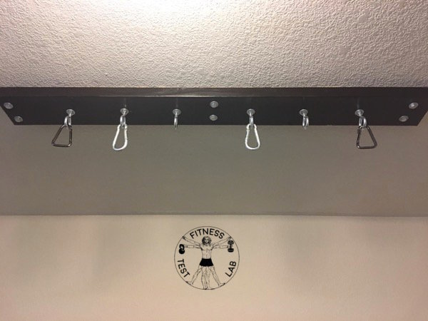 How to Hang Gymnastic Rings - Ring Mount Without Rings - Alternate View