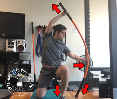 Stick Mobility Review - Kneeling Bow and Arrow