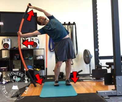Stick Mobility Review - Standing Bow and Arrow