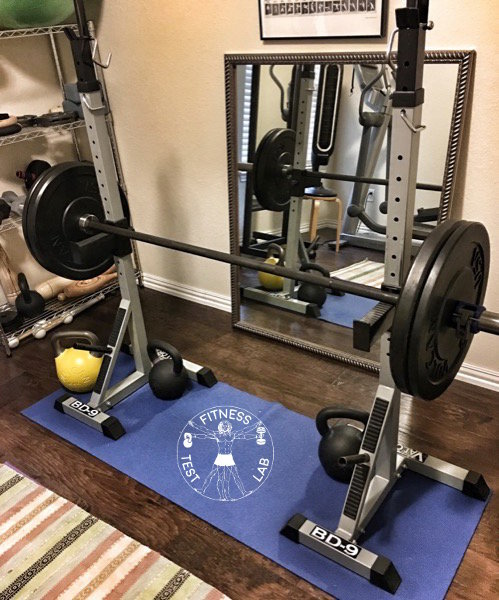 Vulcan Black Bumper Plate Review - Valor Fitness BD-9 Squat Stands