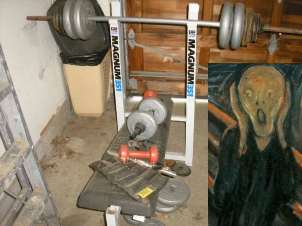 Combining kettlebells and barbells - don't be this guy
