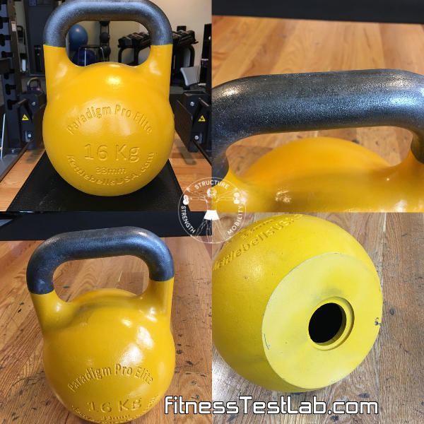 Kettlebells USA Paradigm Pro Elite Review - 16kg Alternate Views