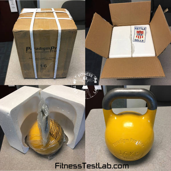 Kettlebells USA Paradigm Pro Elite Review - 16kg Unboxing