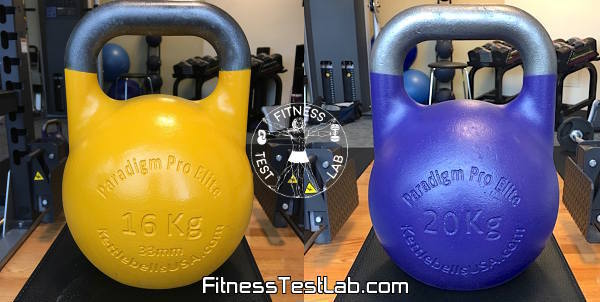 Kettlebells USA Paradigm Pro Elite Review - 16kg and 20kg