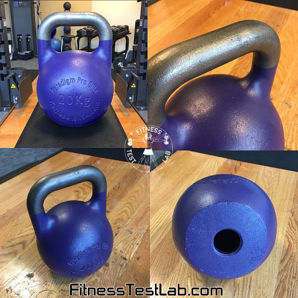 Kettlebells USA Paradigm Pro Elite Review - 20kg Alternate Views