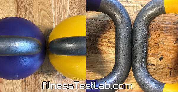 Kettlebells USA Paradigm Pro Elite Review - 35mm vs 33mm handle diameter