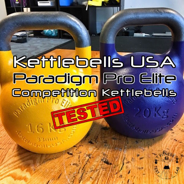 Kettlebells USA Paradigm Pro Elite Review - Title and Featured Pic
