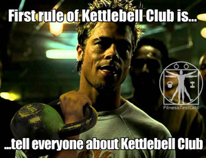 Fitness Test Lab - First Rule of Kettlebell Club is Tell Everyone About Kettlebell Club