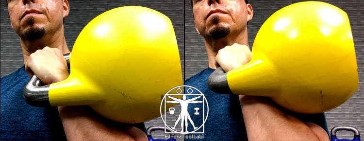 Kettlebell Kings Competition Kettlebells Review - Rack Position