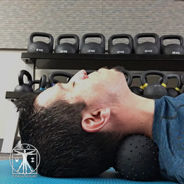 CFF Physio Ball Review - Neck Massage