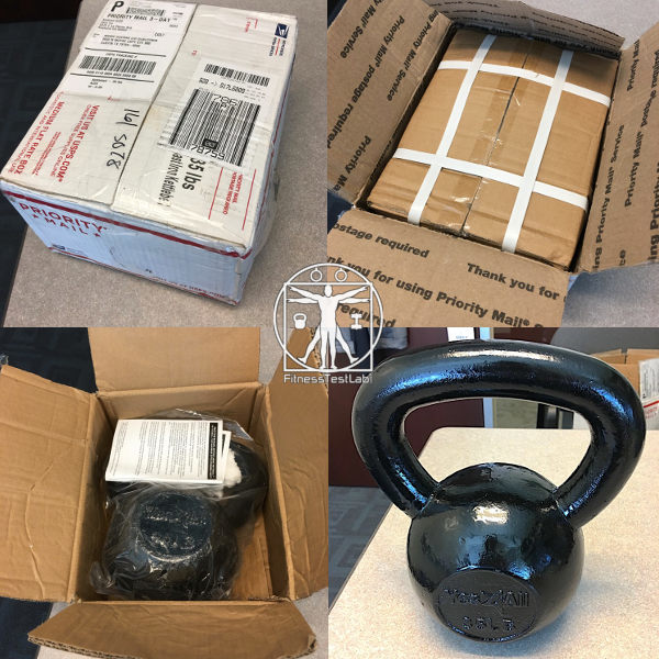 Yes4All Kettlebell Review - Unboxing
