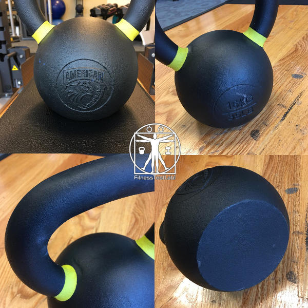 Best Kettlebells 2018 - American Barbell Kettlebell Review - Coating and Finish