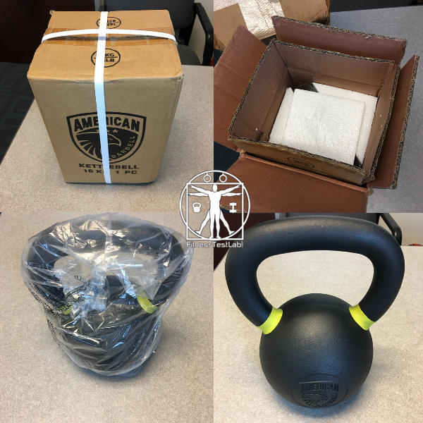 Best Kettlebells 2018 - American Barbell Kettlebell Review - Unboxing