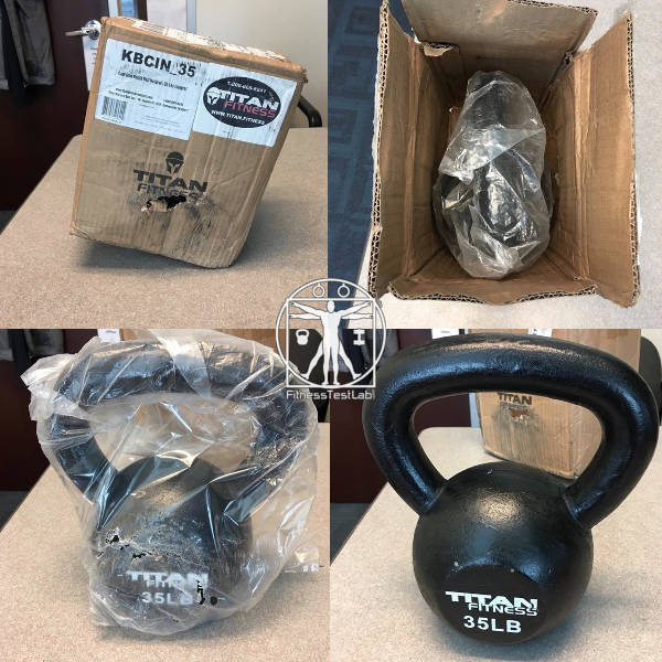 Titan Fitness Kettlebell Review - Unboxing