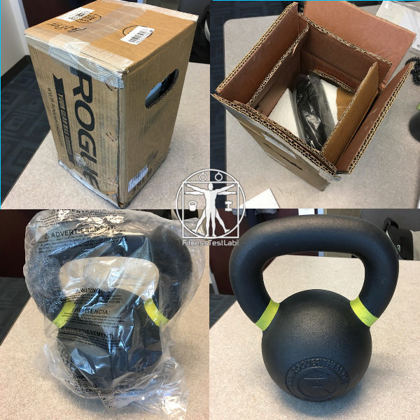 Best Kettlebells 2018 - Rogue Fitness Powder Coat Kettlebell Review - Unboxing