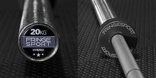 Fringe Sport Hybrid Bar Review - Endcap and Collar