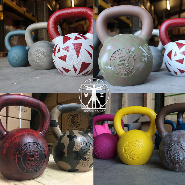 Kettlebell Kings Review - Cerakote Cast Iron - Various Options