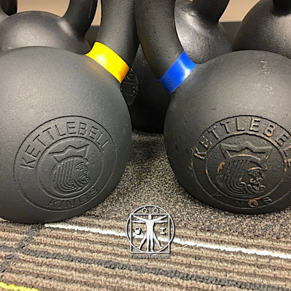 Kettlebell Kings Review - Powder Coat Kettlebell Review - Recessed Logo vs Indented Logo
