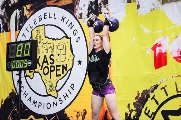Why You Should Train Kettlebell Sport - 20kg kettlebell clean & jerk