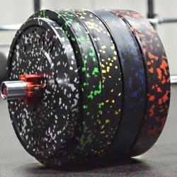 Vulcan urethane bumper plates review garage gym lab