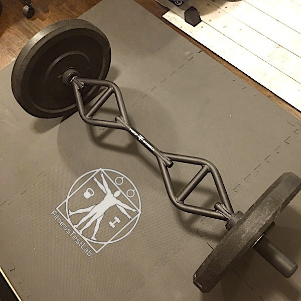 American Barbell T-Grip Shorty Bar Review - Loaded with Competition Plates