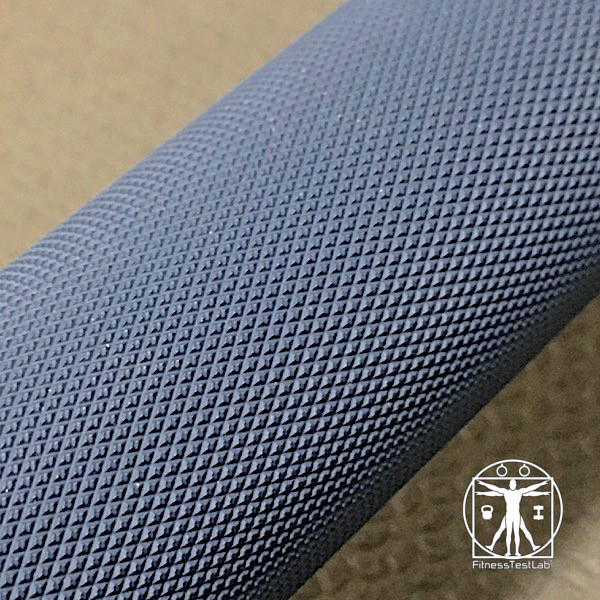 American Barbell Cerakote Training Bar Review - Knurling Close Up