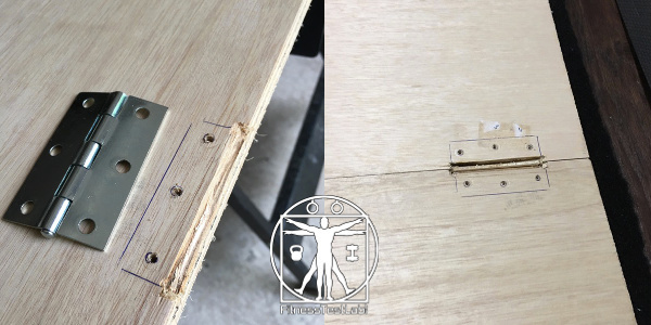 DIY Lifting Platform - Mortise Groove