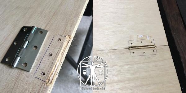 DIY Lifting Platform - Mortise Groove