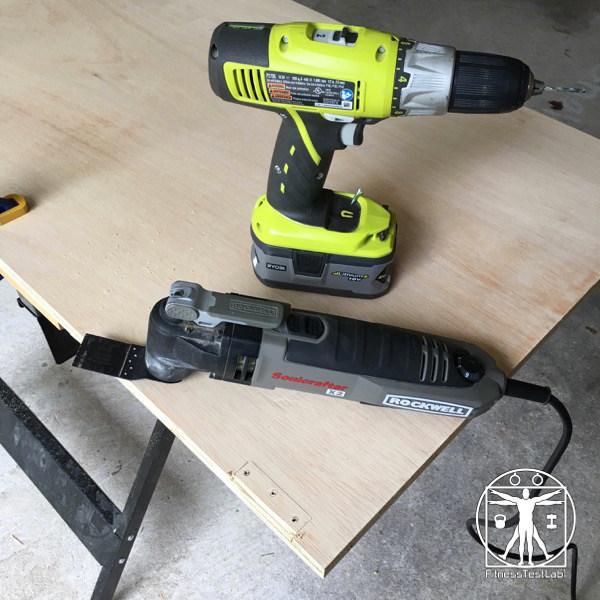 DIY Lifting Platform - Tools