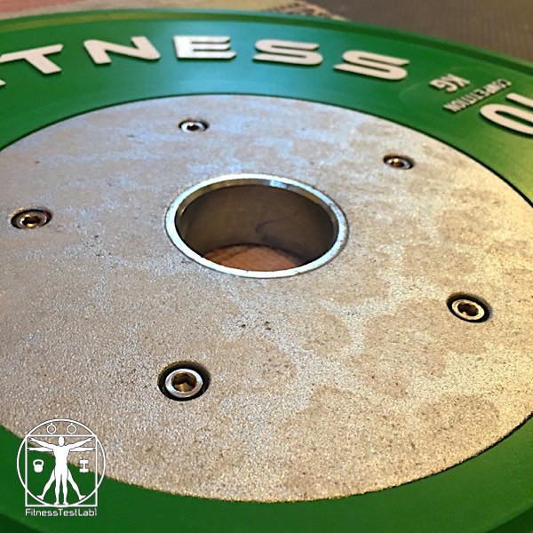 Rep Fitness Competition Bumper Plates Review - Discoloration