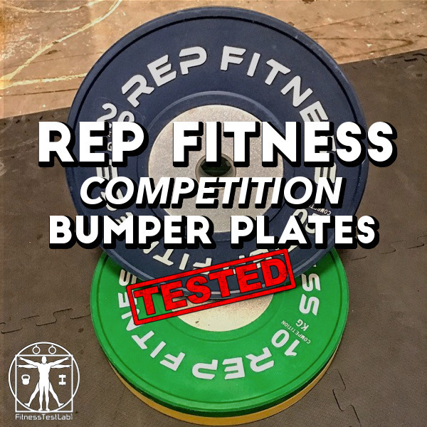 Rep Fitness Competition Bumper Plates Review - Featured Pic