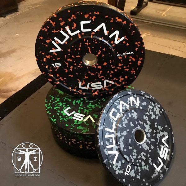 Vulcan Strength Alpha Bumper Plates