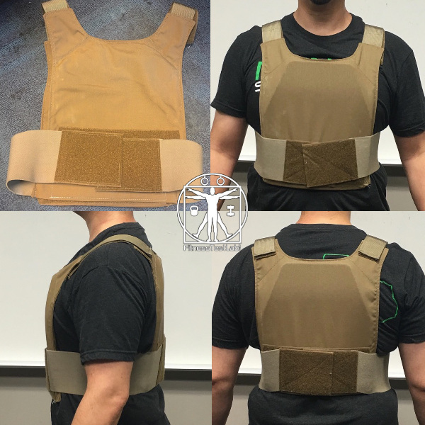 Best Weight Vests for Crossfit - Beez Combat Systems Extreme Lightweight Plate Carrier Review - Fit