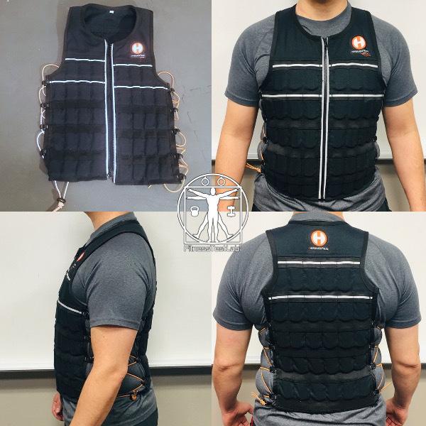 Best Weight Vests for Home Fitness - Hyperwear Hypervest Elite Vest Review - Fit