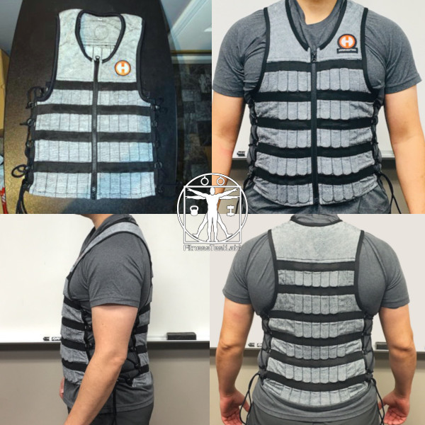 Best Weight Vests for Home Fitness - Hyperwear Hyper Vest Pro Review - Fit