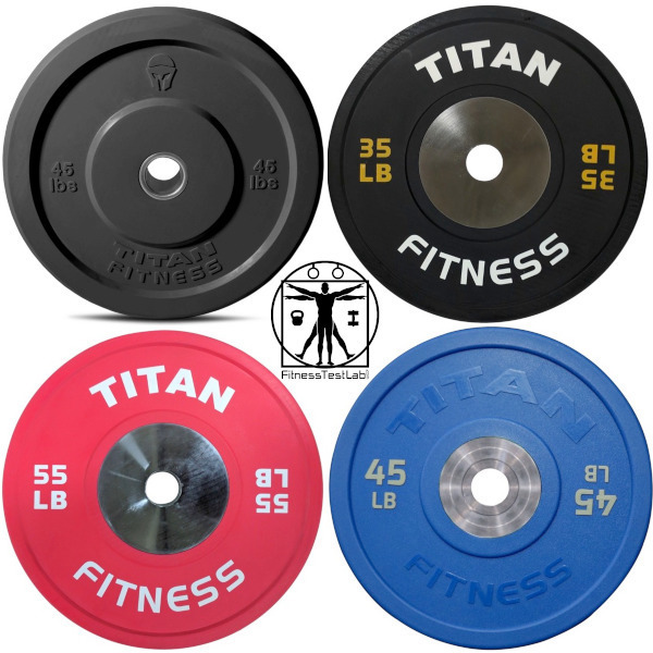 Bumper Plate Buyers Guide - Titan Fitness Bumper Plates