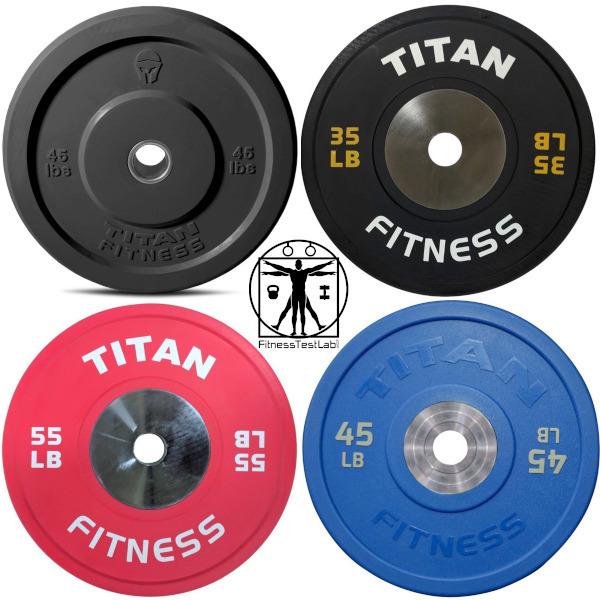 Bumper Plate Buyers Guide - Titan Fitness Bumper Plates