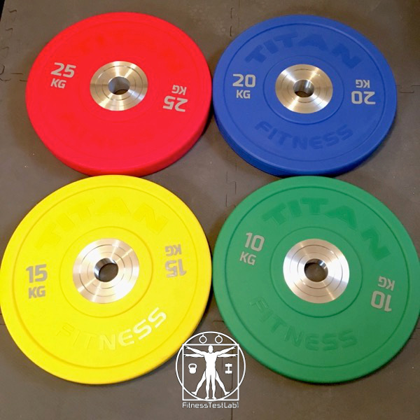 Olympic Bumper Plates Buyer's Guide - Titan Fitness Urethane Bumper Plates