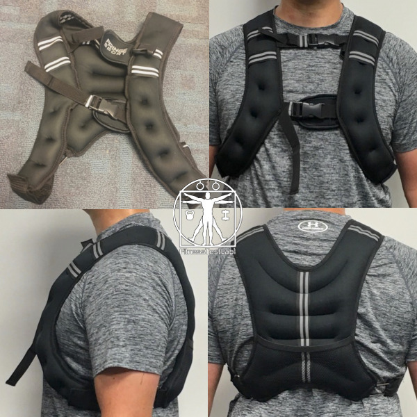 Best Weight Vests for Home Fitness - Fringesport WODMaster Weighted Vest Review - Fit