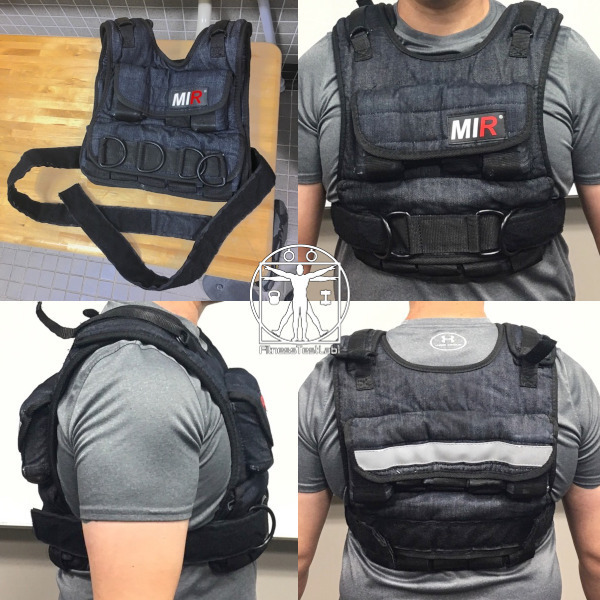 Best Weight Vests for Home Fitness - MIR Weighted Vest Review - Fit_